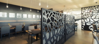 restaurant bar interior design planung