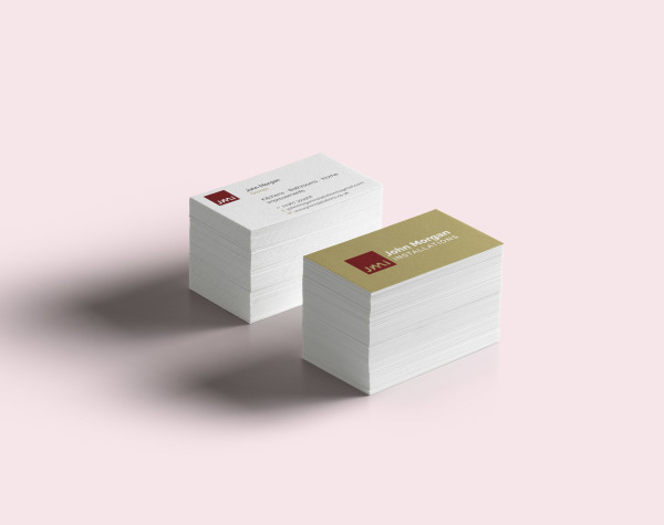 New Business Cards for JMi building services