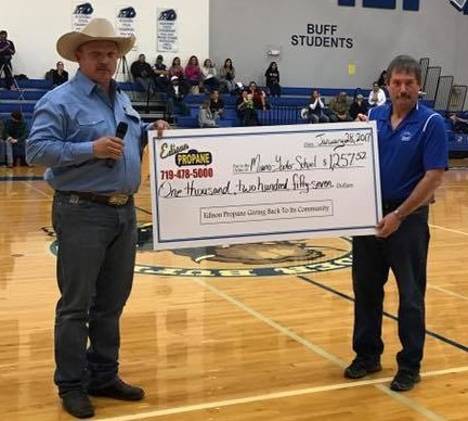 Over $20,000 given to our local schools over the years
