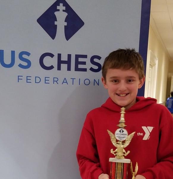 Jonathan, the 2016 National Elementary U800 Champion!