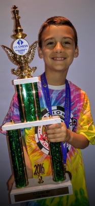 JonLuke and his National trophy
