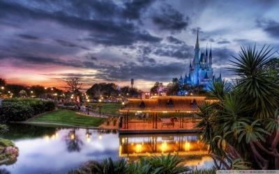 DisneyWorld Backdrop