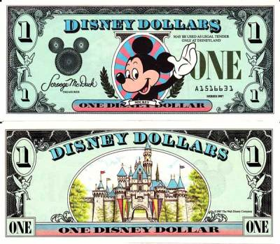 image about Disney Dollars Printable identified as Homepage