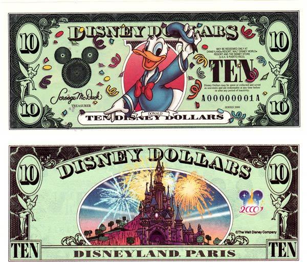 2000 $10 Celebrating Donald