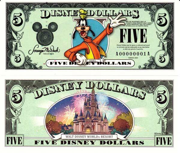 2003 $5 Goofy