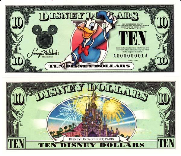 2003 $10 Donald Duck