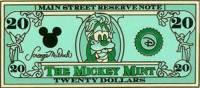 $20 Goofy as Andrew Jackson
