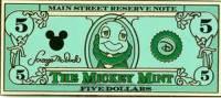 $5 Jiminy Cricket as Abraham Lincoln