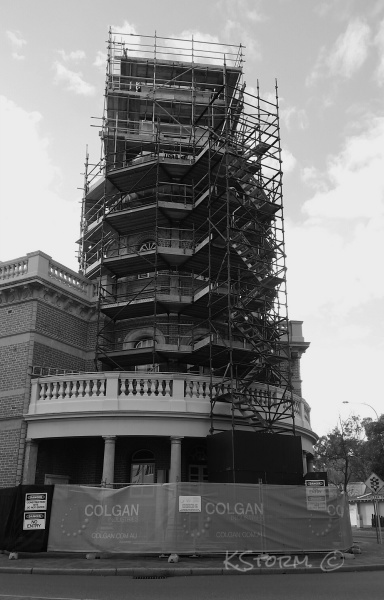 Midland Town Hall Clock Renovations