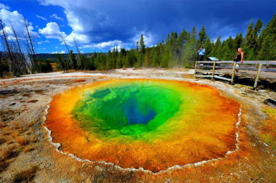 เยลโลว์สโตน อุทยานแห่งแรกของโลกและของสหรัฐอเมริกา