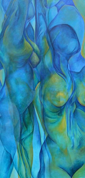 FIGURES IN BLUE