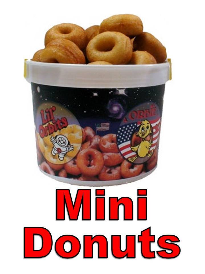 Mini Donuts by the Bag