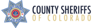 County Sheriffs of Colorado logo