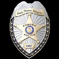 Aurora PD Badge