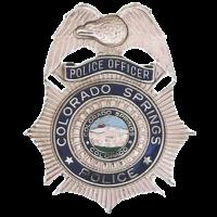 Colorado Springs PD badge