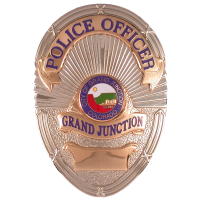 Grand Junction Police Department badge