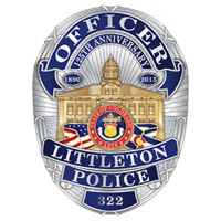Littleton Police Department badge