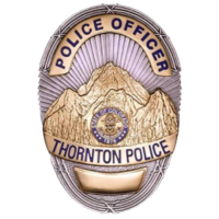 Thornton Police Department badge