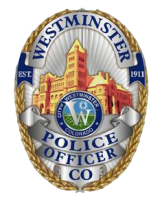 Westminster Police Department badge