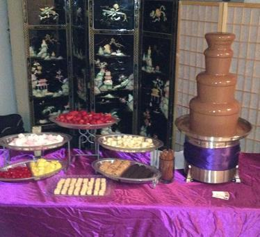 Chocolate Fountain Party Rental in NYC