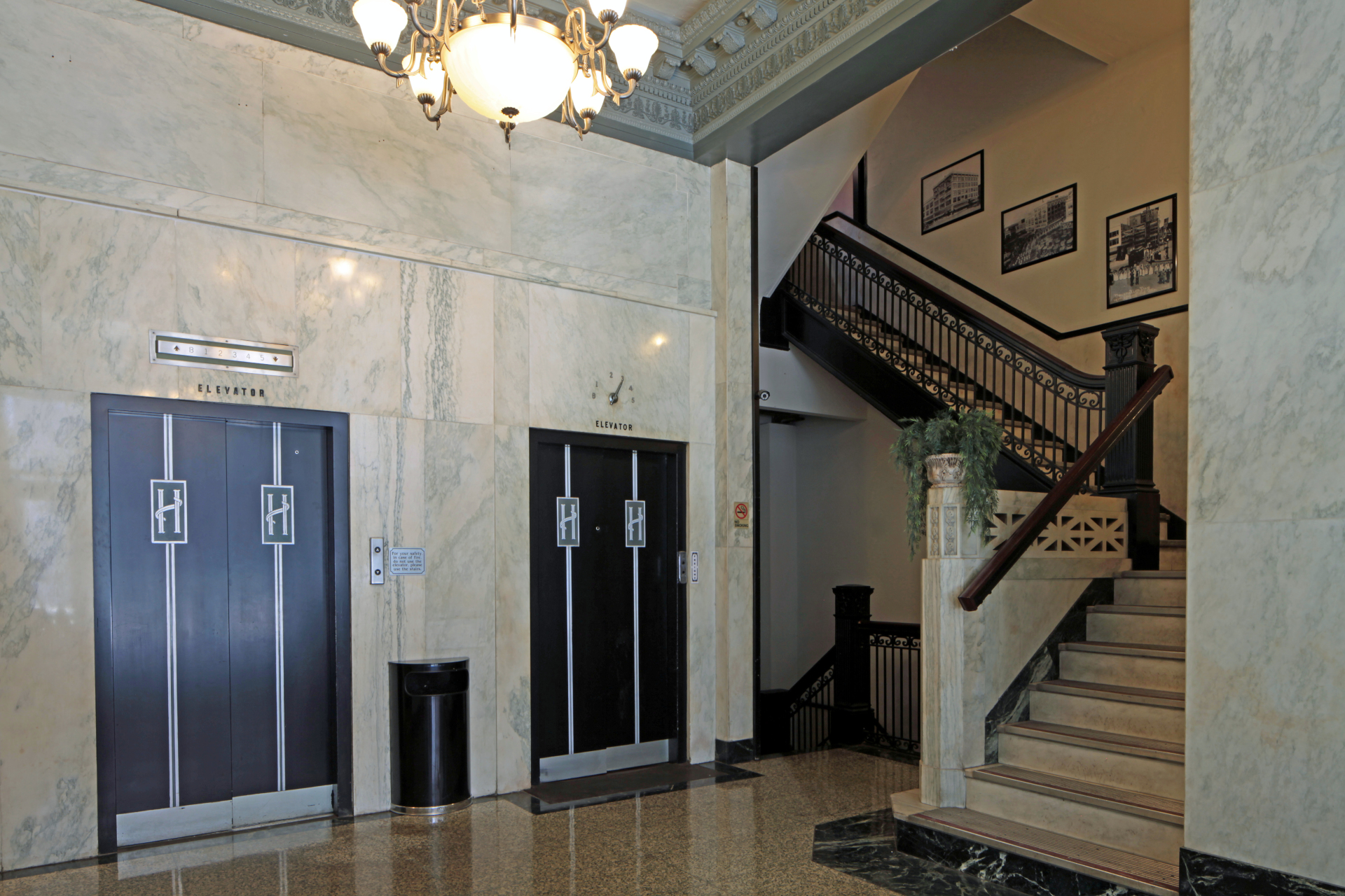 Holland Building Lobby