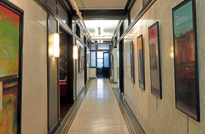 Holland Building Hallway