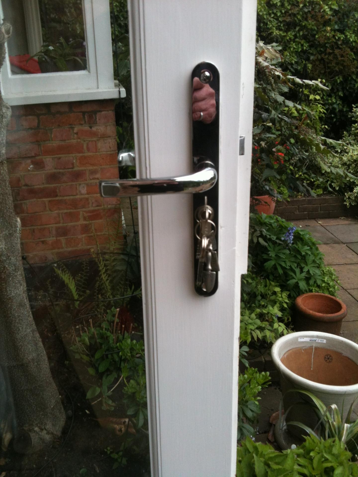 New door lock and handles