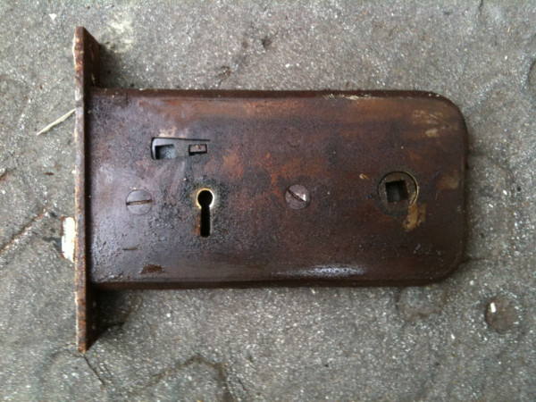 Old mortice lock