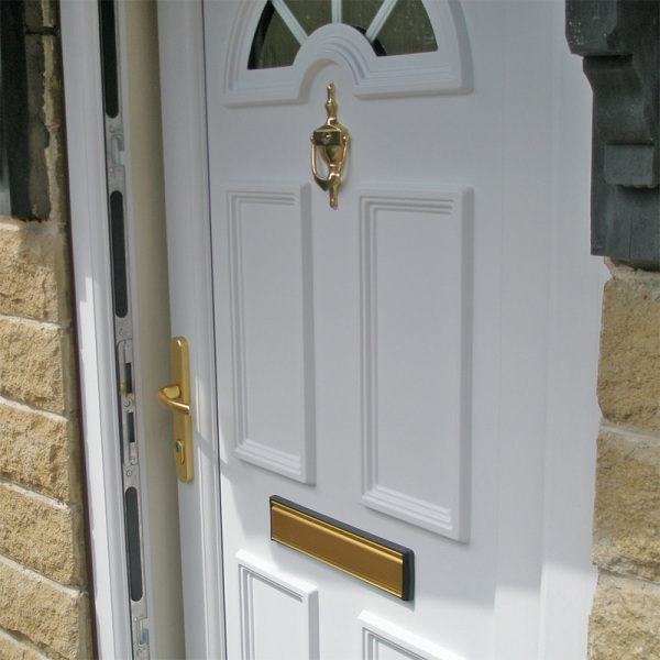 UPVC door open