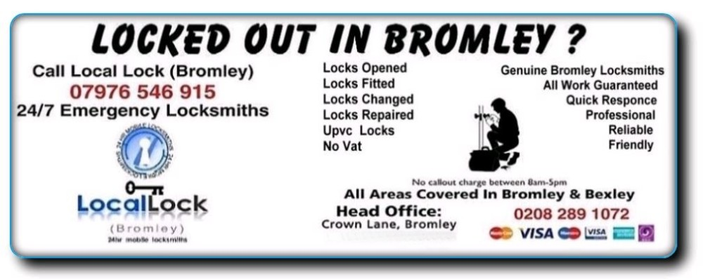 Local Lock Bromley flyer