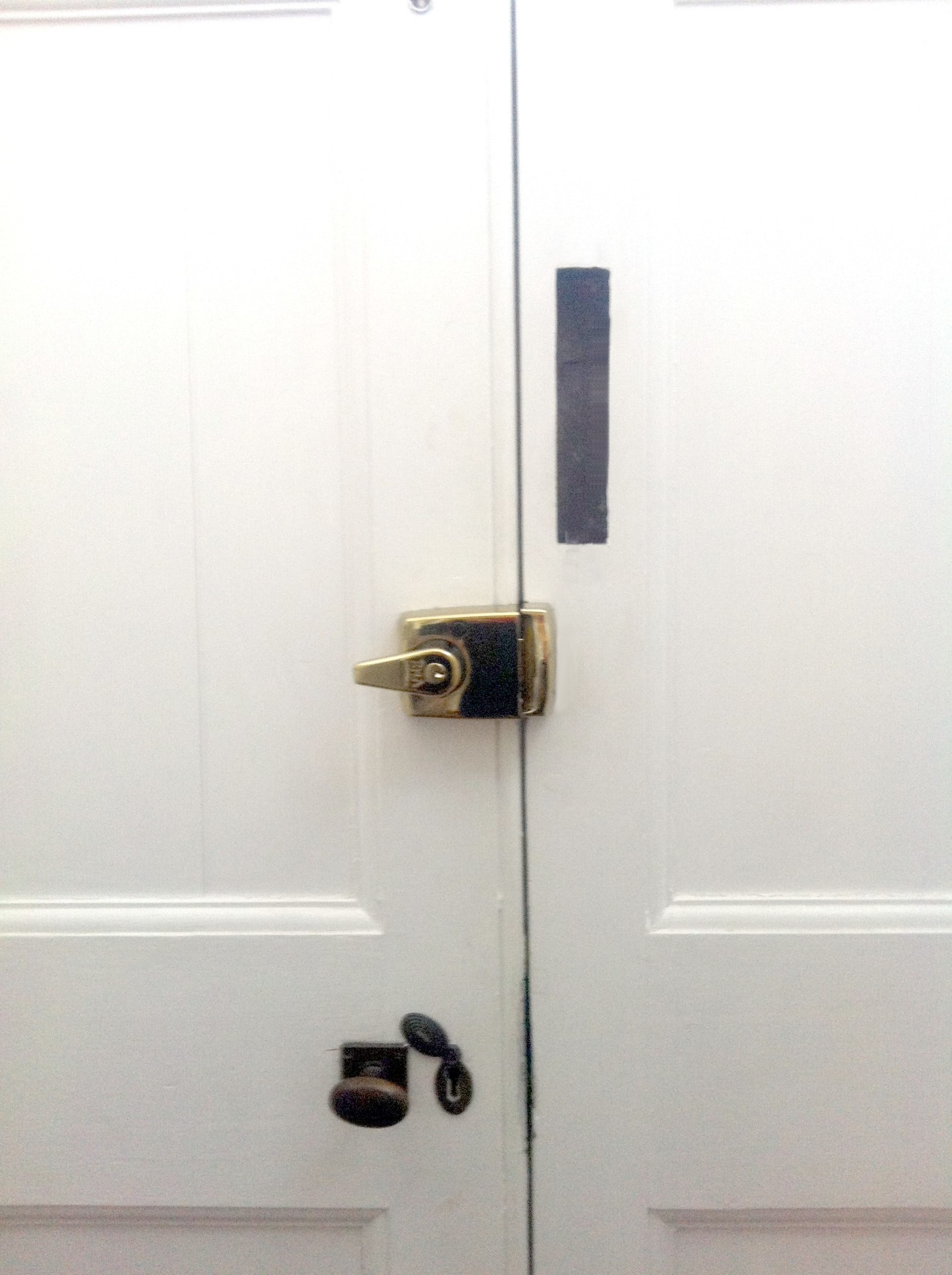 BS Insurance Approved Night latch Fitted Inside