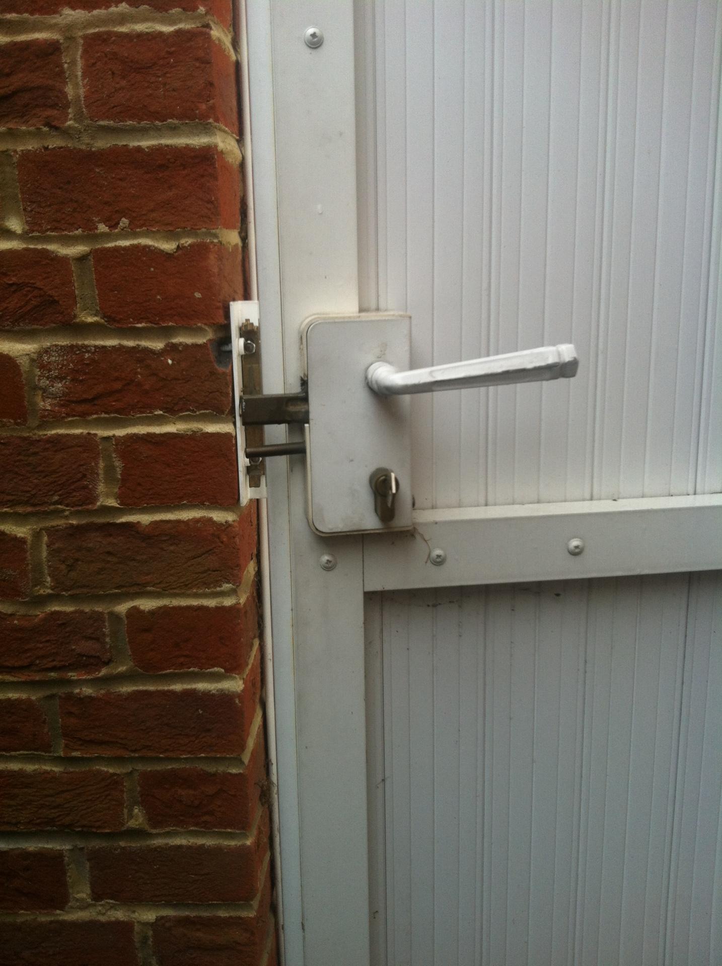 PVC GATE Lock