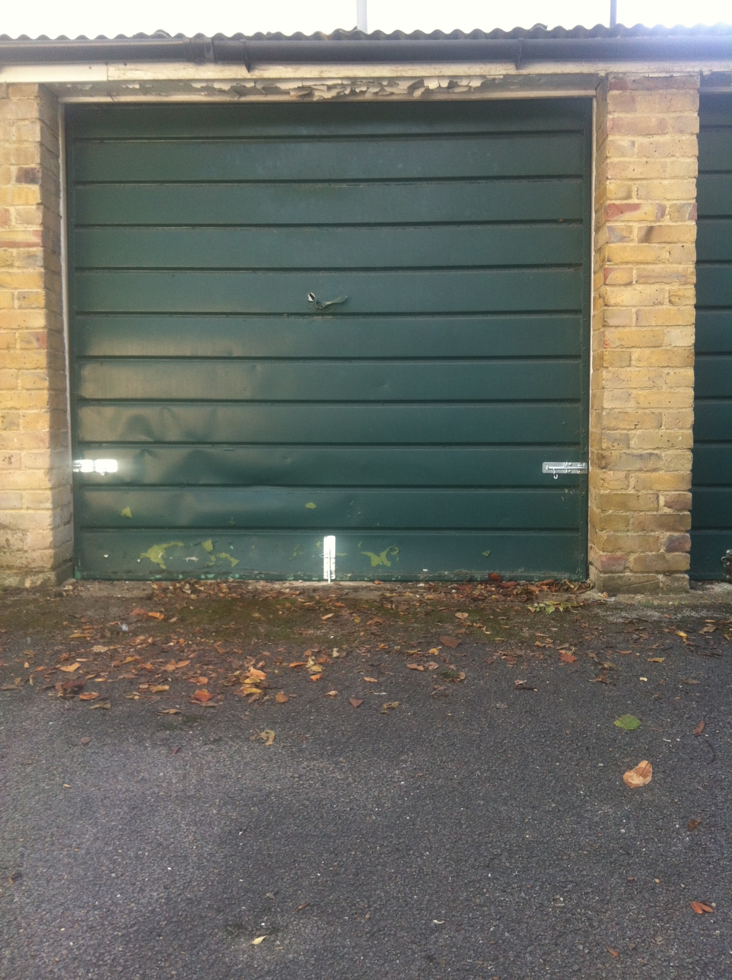 Garage Padbolts Fitted