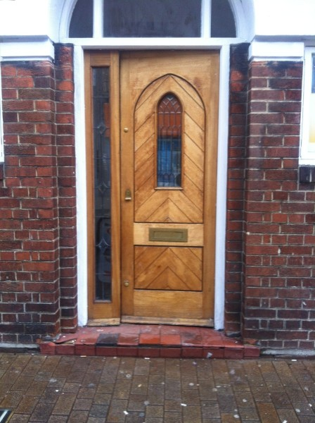 Church door lock fitted by us part 2