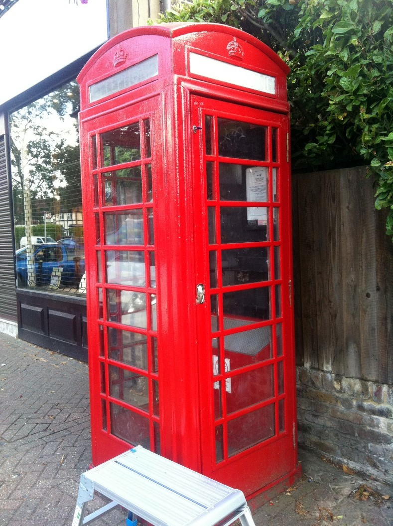 Phone box lock 2