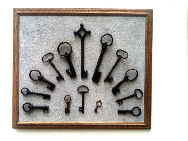 Antique german key collection