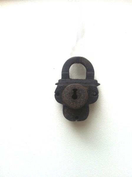 Antique german lock
