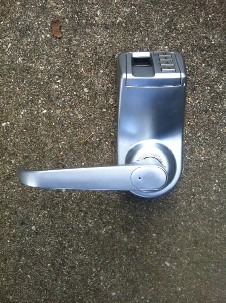 Biometric fingerprint lock 1