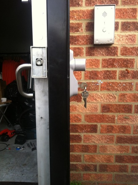 Outside access device fitted 4