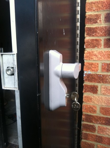 Outside access device fitted 3