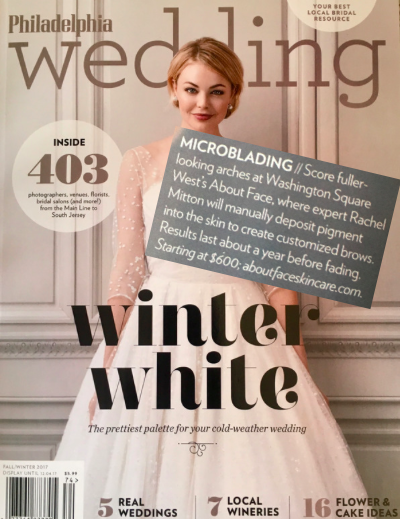 Philadelphia Wedding Magazine Feature