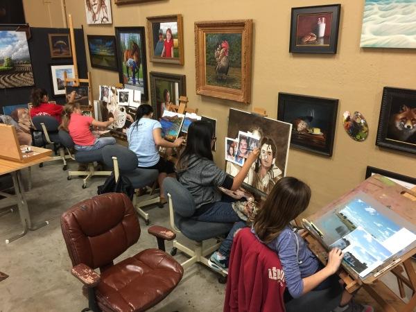 Art Class, St Charles, Art Box