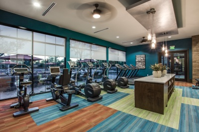 Strength And Cardio Fitness Center Featuring Technogym Equipm