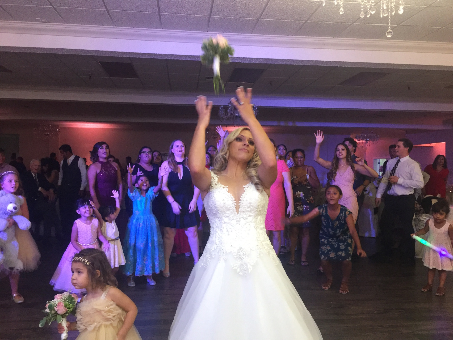 Bouquet Toss- Ashley