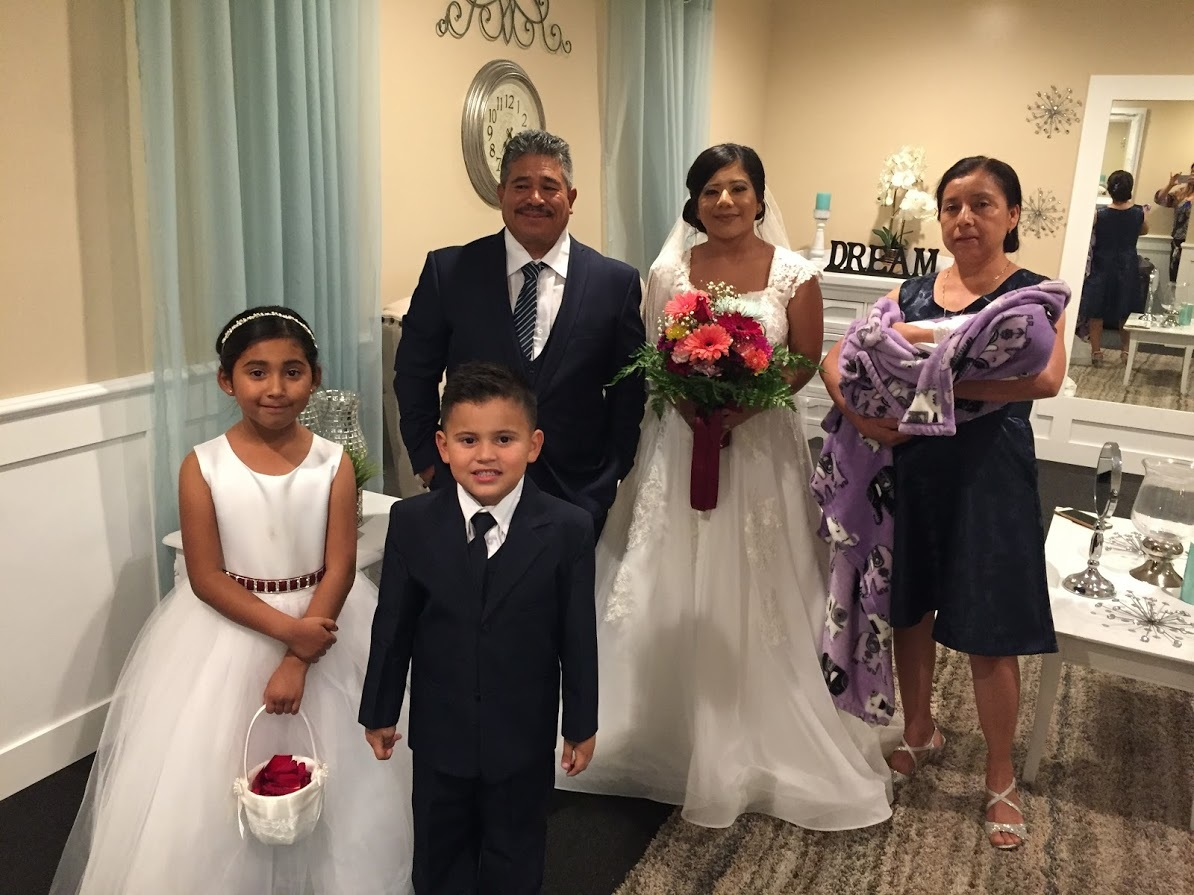 Our Bride and her Family