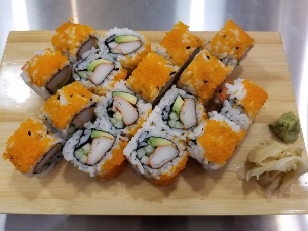 California with Masago Roll