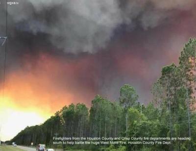 Georgia Wildfire 2017