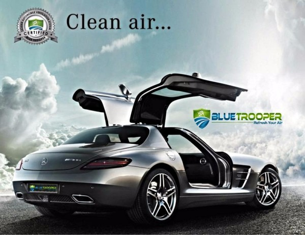 Blue Trooper Automotive A/C Clean Air Technicians