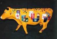 Acrylic colors, cow, by Michaela Seidl