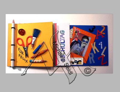 Little booklet for kids starting school